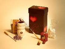 ערכת פונדו שוקולד במקס ברנר. צילום: יורם אשהיים