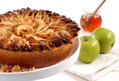 פאי תפוחים בדבש. צילום: רויטל אקילוב