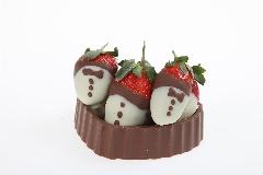קופסת תותי שוקולד. צילום: אבי ולדמן