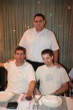 ניר אילני (עומד) עם גולן ישראלי ואריק פורת