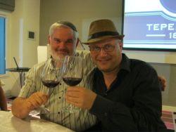 שיקי ראוכברגר עם דיויד רודס