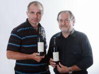 מישל רולאן (מימין) וארקדי פפיקיאן