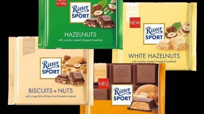 4 שוקולדים חדשים של Ritter Sport