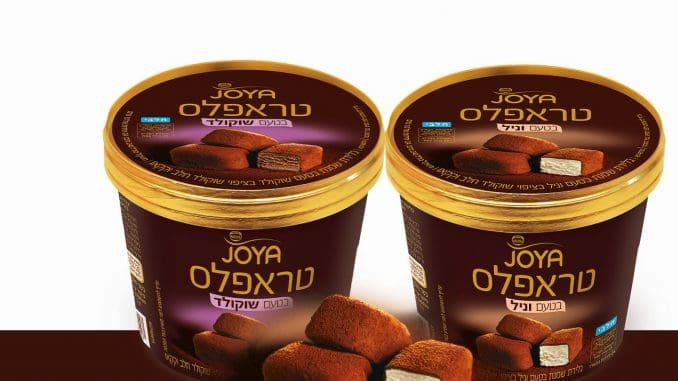 טראפלס Joya בטעמי שוקולד ווניל