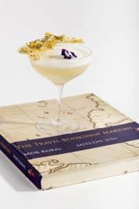 The travel bookshop martini