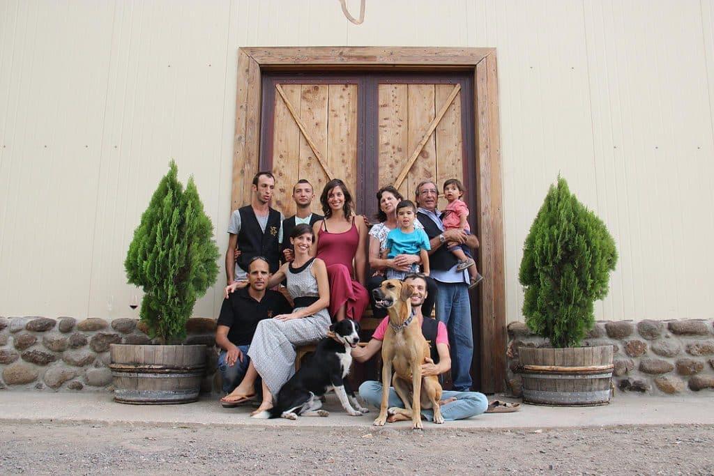 יקב משפחתי בחג משפחתי - יקב אסף מרמת הגולן