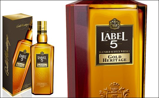 Label 5 Gold Heritage Scotch