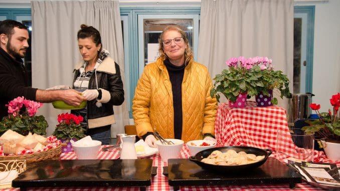 המטבח של איילת באירוע הפתיחה של הפסטיבל