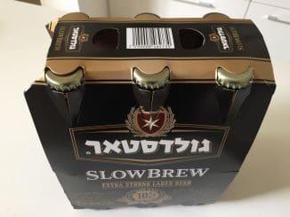גולדסטאר SLOWBREW עם ֵ10% אלכוהול