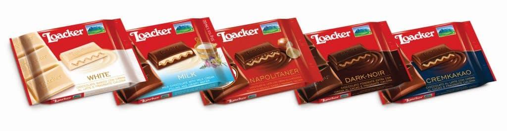 סדרת חטיפי השוקולד האישיים במשקל 55 גרם כל אחד