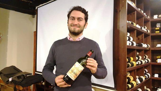 Jose Saez Martinez בדרך היין