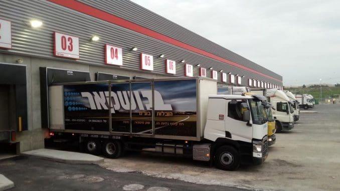 התעבורה היומית יכולה לקלוט כ- 450 משאיות