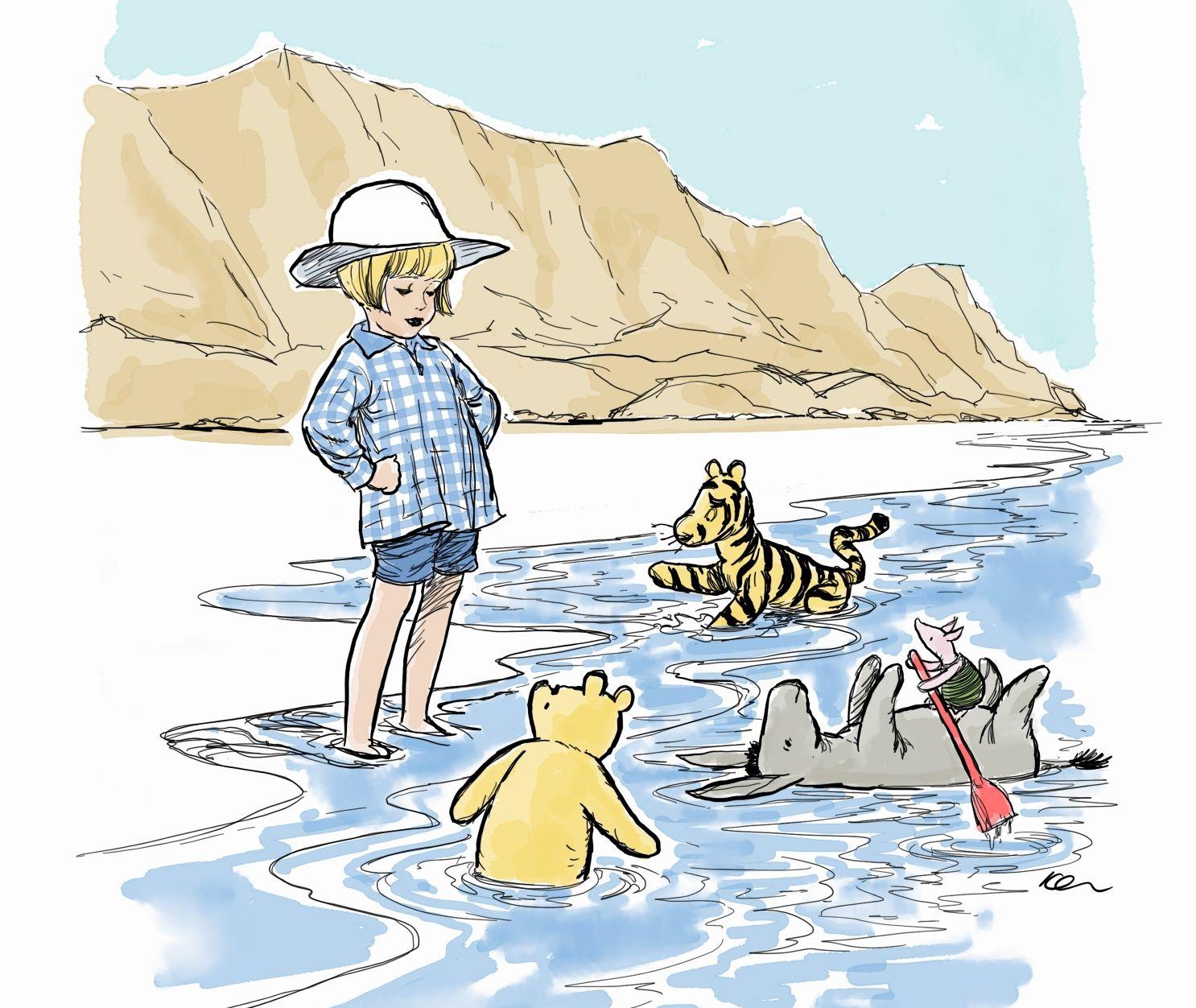 פו הדב וחבריו מבקרים בים המלח ושוק מחנה יהודה