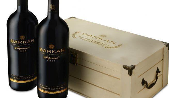 מארז מסדרת 'סופרייר', יין הדגל של יקבי ברקן