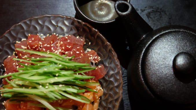 סאקה יפני ומנות ספיישל זוגיות