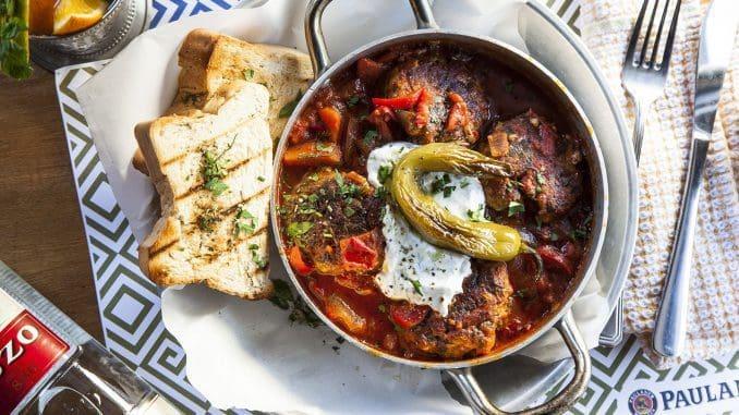 מסעדה יוונית שנפתחה לאחרונה