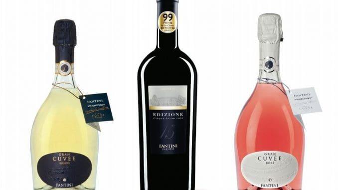 שלושה יינות של יקב פנטיני האיטלקי, מהם אחד שזכה ל-99 נקודות