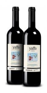 התוויות המיוחדות מתנוססות על יינות סירה וקברנה סוביניון 2015 של יקב יפו