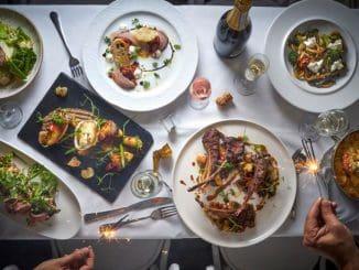התפריט משלב תערובת של המטבח הקליפורני עם המטבח הים תיכוני