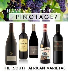 מקור גפן הפינוטאז' בדרום אפריקה