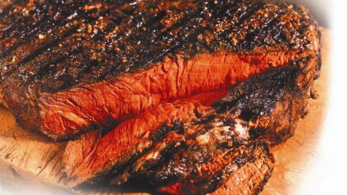 בשר הבקר מתחלק ל-18 נתחים בעלי ערכים תזונתיים שונים