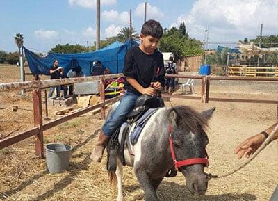 חוות סוסים ליד אשקלון