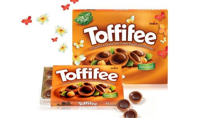 ממתק שמשלב טעמים של שוקולד, נוגט, אגוזי לוז וקרמל