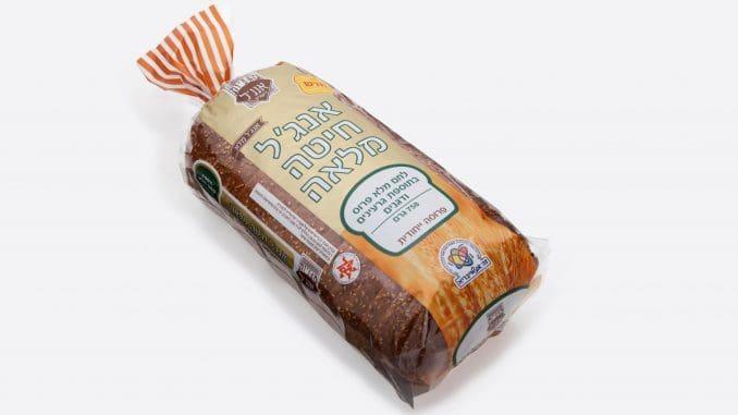 הלחם עשוי מ-100% קמח מלא