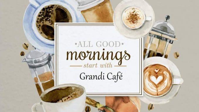 Grandi Cafe של אחיב חדאד ועלאא חוסם ממוקם בכיכר המזרקה בתרשיחא