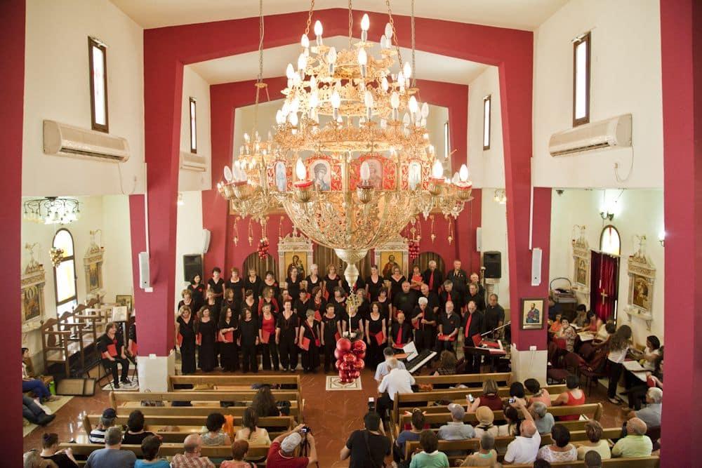 בסיום הסיור בעילבון יתקיים מופע מוסיקלי בכנסייה
