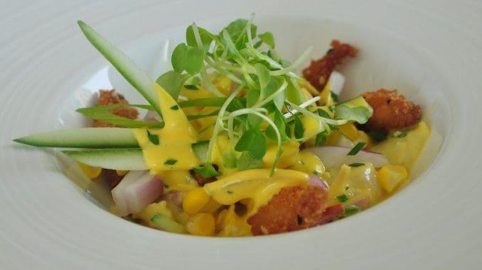 """בפרו סביצ'ה הוא אוכל של עניים – דג נא """"המבושל"""" במיץ לימון ומוגש בתוספת ירקות העונה"""