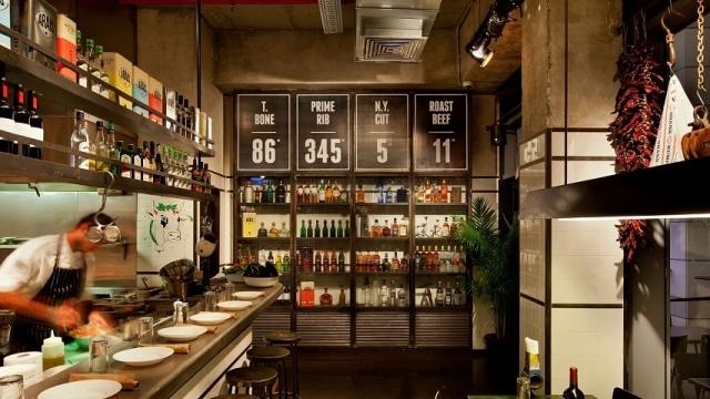 מסעדת פיאצה רוסטיקו שוכנת במתחם שרונה בתל אביב
