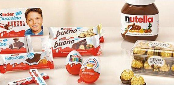 הקבוצה השלישית בגודלה בעולם בתחום ממתקי שוקולד עם מותגים כמו נוטלה, פררו רושה, רפאלו, טיק טק, ומוצרי קינדר