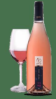 צבע ורוד סלמון עדין האופייני ליינות רוזה מדרום צרפת