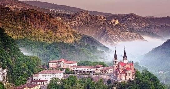 """בראש הרשימה חבל אוסטריאס בצפון ספרד בזכות כנסיית ומנזר קובדונגה המוגדר כ""""עוצר נשימה"""""""