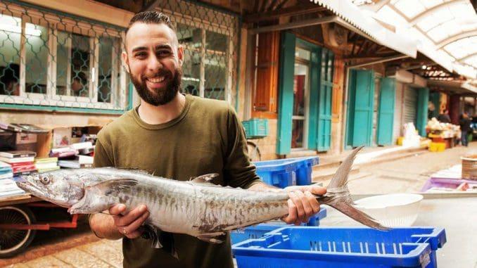 מה שאבי הפסיד כמי שאינו אוכל דגים. צילום רני לוריא - Make Eat Magazine