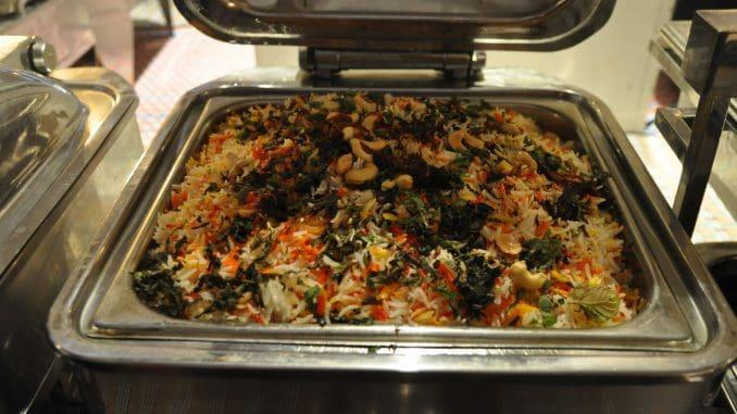 אורז בירני צמחוני עם ירקות