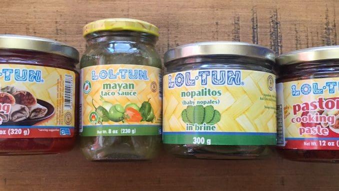 סדרת מוצרים חדשה של Loltun המקסיקנית, ביניהם סלסה של עגבניות ירוקות לטאקו, מרינדת אדובו, מרינדת פאסטור לצלייה ובישול, ועלי קקטוס כבושים רכים