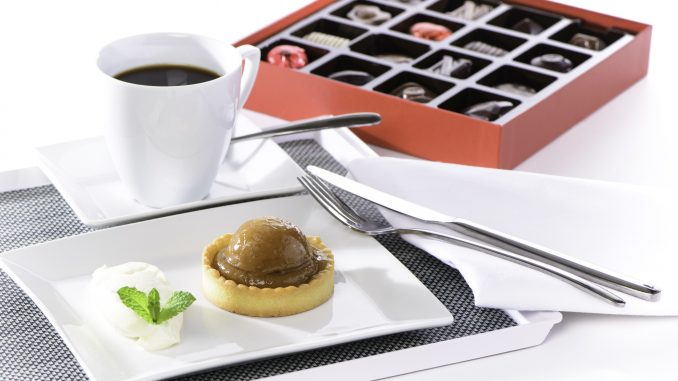 גם שוקולד בלגי משובח מככב בתפריט