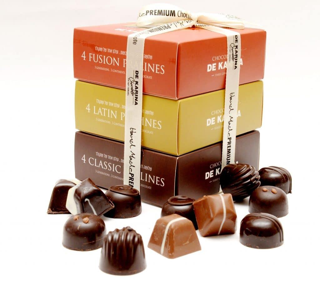 מציינים את שלושת הדורות של המשפחה העוסקים בתחום השוקולד