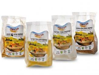 במוצרים משולבים קמחים מלאים ואורגניים, עשירים בערכים תזונתיים הודות לטחינה של הגרעין כולו (על קליפתו)
