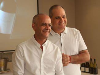אילן חסון (מימין) וששון בן אהרון