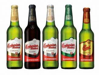 מימין: B Strong אימפריאל לאגר חזקה 7.5% אלכוהול עם הבירות האחרות במשפחה