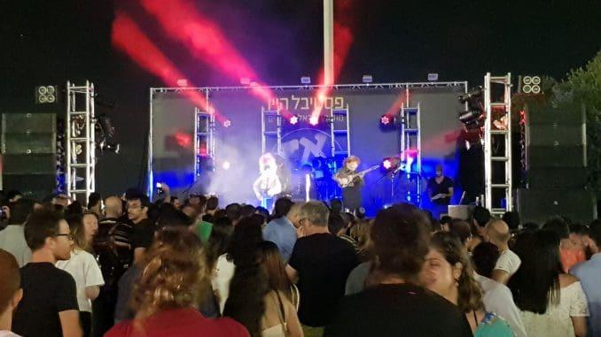 להקת רדבנד כיכבה בערב הפתיחה
