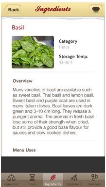אפליקציית Escoffier Cook's Companion היא העוזר המושלם למטבח