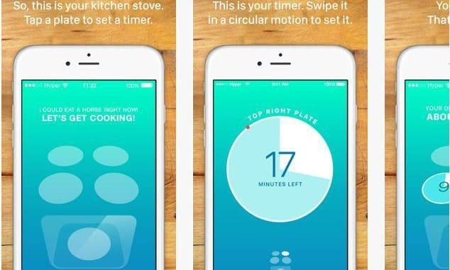 האפליקציה מסוגלת לשמור מספר טיימרים במקביל