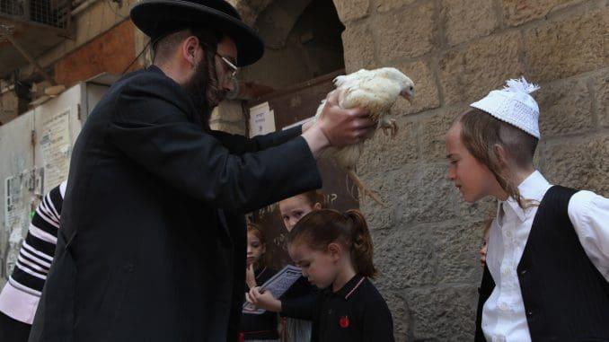 """""""זה חליפתי, זה תמורתי, זה כפרתי. זה התרנגול ילך למיתה, ואני אלך ואכנס לחיים טובים, ארוכים ולשלום"""""""