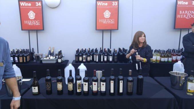 תערוכת יין כשר בלוס אנג'לס - לא שוק מטרה מרכזי