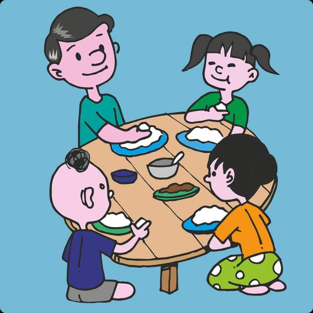 מועד נפלא להחליט על התחדשות ושינוי, או שיפור של תזונת המשפחה או הרגלי האכילה המשפחתיים