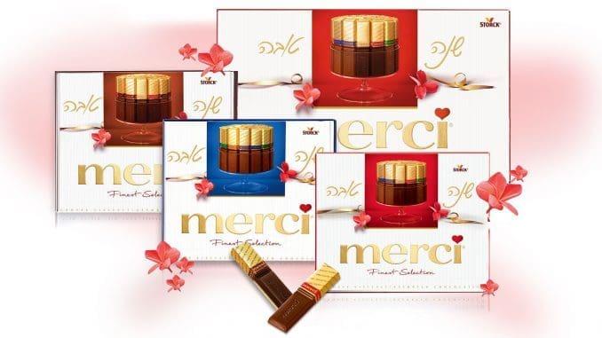 מגוון בונבוניירות שוקולדים של מרסי במבחר טעמים וגדלים